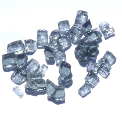 1/4 inch Slate Grey Fire Glass Crystals