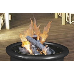 Gas Logs - Six Log Set with Cinders