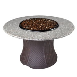 Tretco 42 inch Palm Fire Pit Table