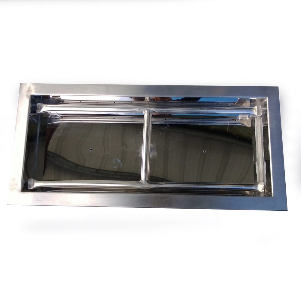30 inch Stainless Steel Drop-In Rectangular Burner