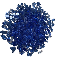 1/4 inch Blue Fire Glass Crystals