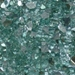 1/4 inch Forest Green Reflective Fire Glass Crystals - 1496-1