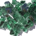 1/2 inch Forest Green Reflective Fire Glass Crystals - 1496-5