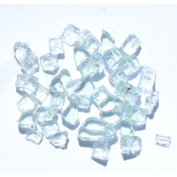1/4 inch Diamond White Fire Glass Crystals