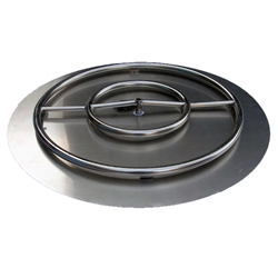 30 inch Stainless Steel Pan-Ring