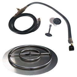 30 inch Stainless Steel Pan-Ring Kit NG