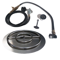 22 inch Stainless Steel Pan-Ring Kit NG