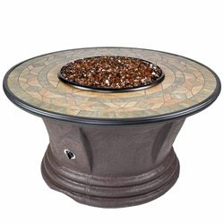 Tretco Havana II 48 inch Fire Pit Table