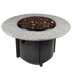 Tretco Venice III 42 inch Granite Fire Pit Table