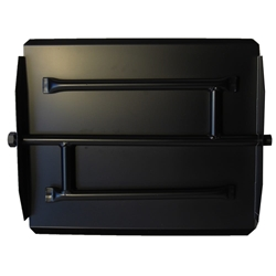 17 inch Powder Coated Triple Xtra Flame Burner Pan
