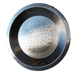 20 inch Stainless Steel Drop-In Round Burner Pan NG