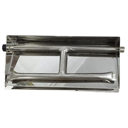 21 inch Stainless Steel Dual Burner Pan